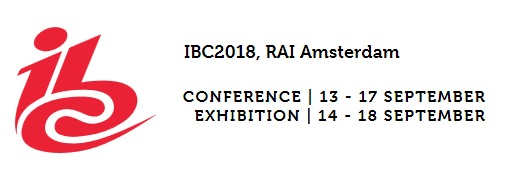 IBC 2018 - The content creation management delivery experience
